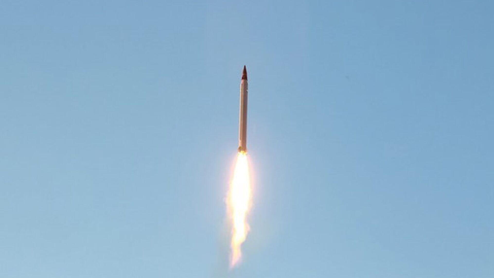 Misil balístico de Irán (archivo) - Sputnik Mundo, 1920, 15.02.2021