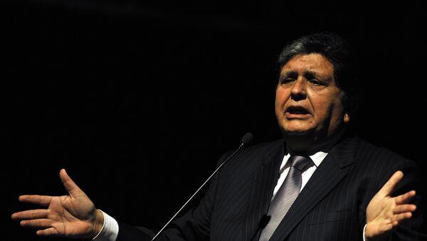 Alan García, expresidente de Perú (archivo) - Sputnik Mundo