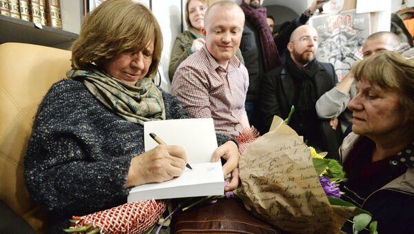 Svetlana Alexievich - Sputnik Mundo