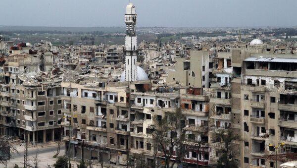 La ciudad siria de Homs - Sputnik Mundo