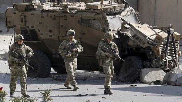 Militares de la OTAN en Kabul, Afganistán - Sputnik Mundo