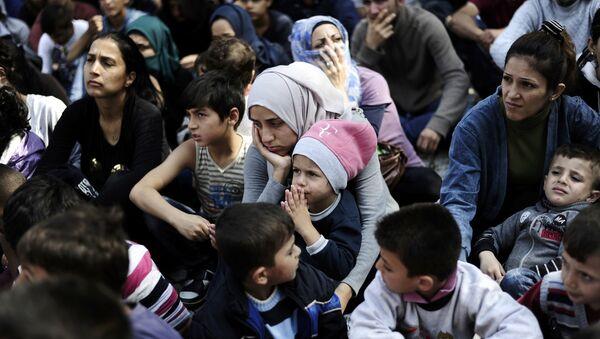 Refugiados sirios en Turquía (archivo) - Sputnik Mundo