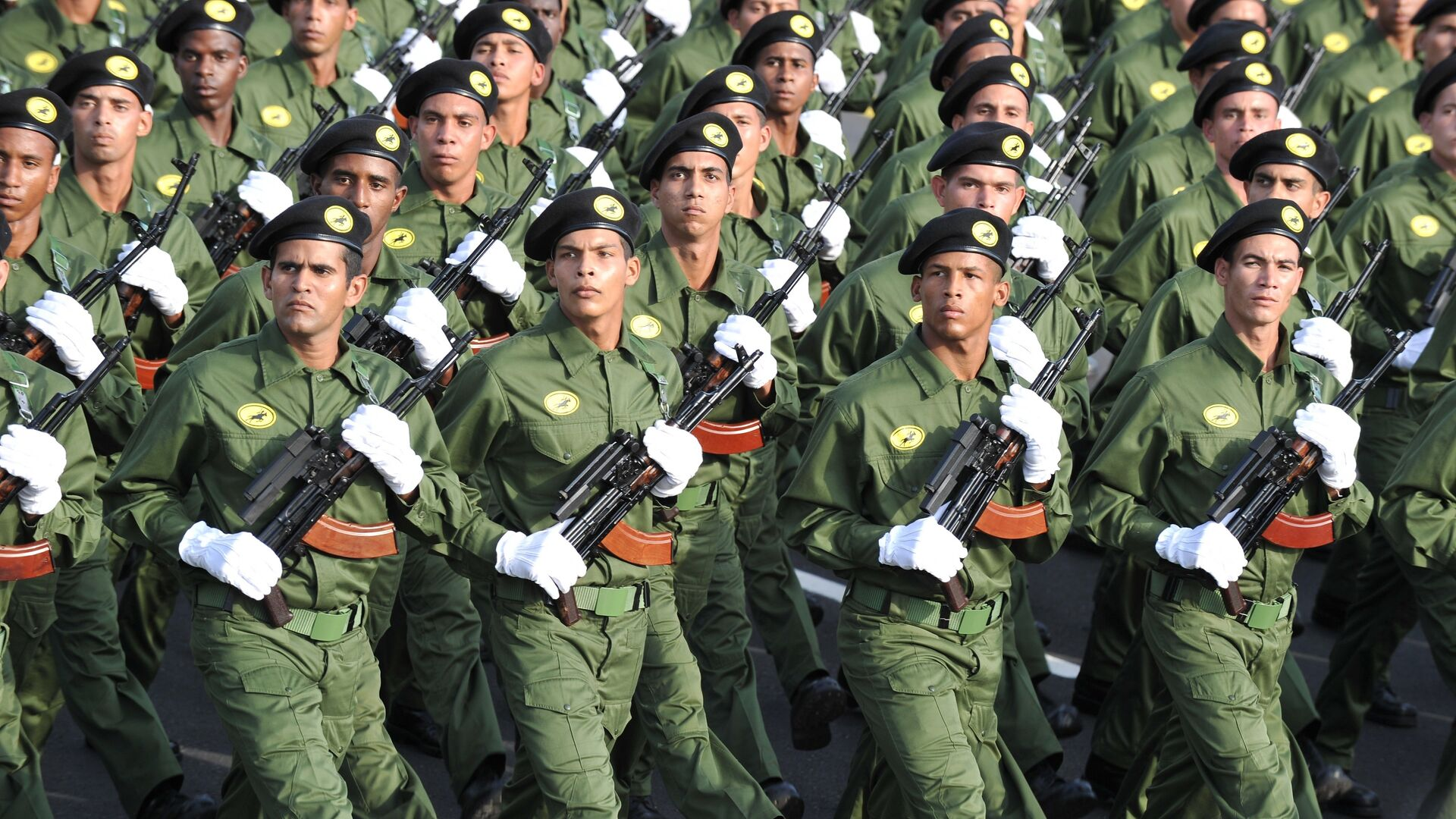 Soldados cubanos - Sputnik Mundo, 1920, 08.10.2021
