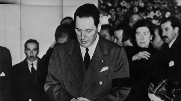 El presidente de Argentina Juan Domingo Perón - Sputnik Mundo
