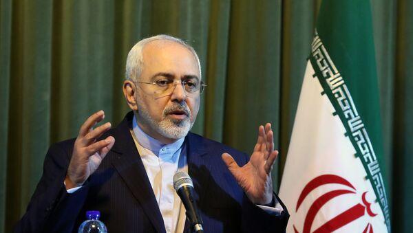 Mohammad Javad Zarif, el canciller de Irán - Sputnik Mundo