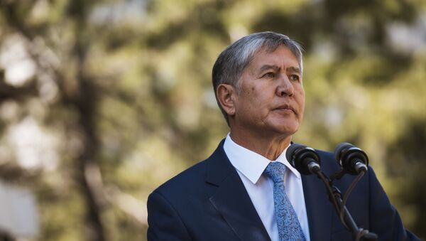 Almazbek Atambáev, el presidente de Kirguistán - Sputnik Mundo