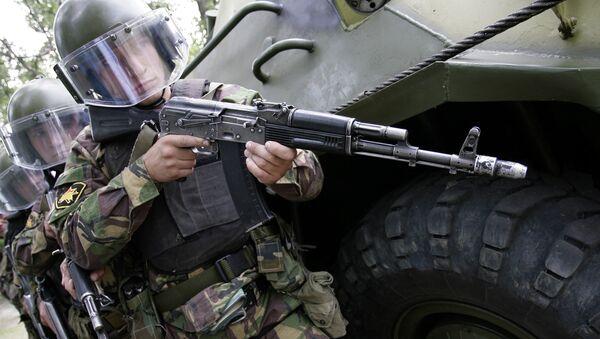 Ejercicios antiterroristas en la región de Rostov (Sur de Rusia) - Sputnik Mundo