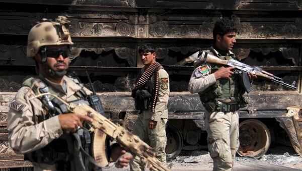 Militares de las Fuerzas de Seguridad de Afganistán - Sputnik Mundo