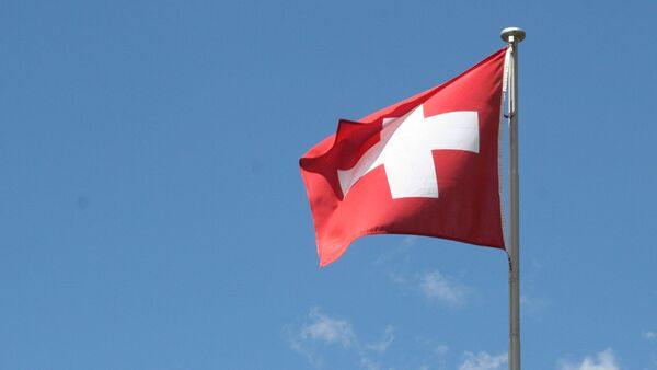La bandera de Suiza - Sputnik Mundo