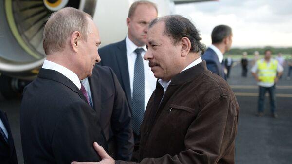 В.Путин посетил Никарагуа - Sputnik Mundo