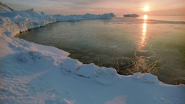An Arctic dawn - Sputnik Mundo