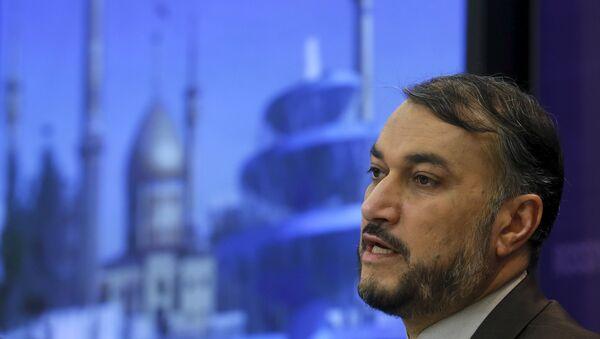 Hossein Amir-Abdollahian, el ministro de Exteriores de Irán - Sputnik Mundo