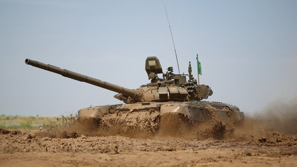 Tanque modernizado ruso T-72B3 - Sputnik Mundo