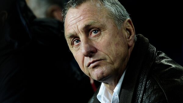 Johan Cruyff, exjugador y extécnico del FC Barcelona - Sputnik Mundo