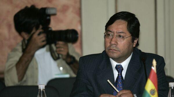 Luis Arce, exministro de Economía de Bolvia y candidato presidencial del MAS - Sputnik Mundo