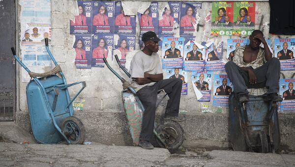 Antes de las elecciones en Haití - Sputnik Mundo