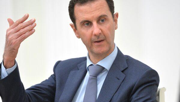 Bashar Assad, presidente de Siria (archivo) - Sputnik Mundo