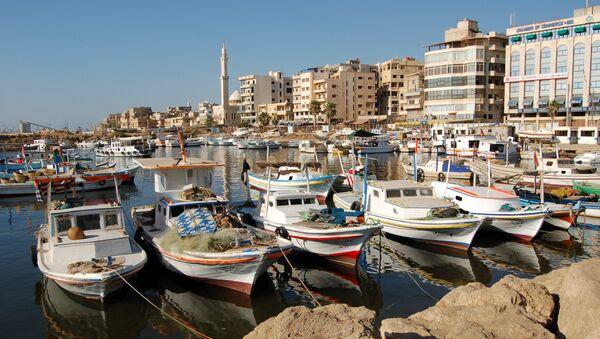Barcas en el puerto de Tartus, Siria - Sputnik Mundo