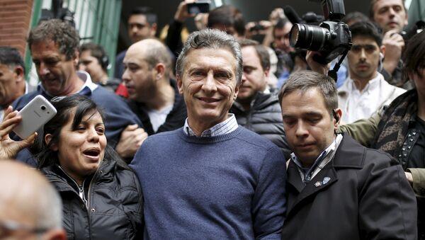 Mauricio Macri, el líder de la coalición opositora Cambiemos - Sputnik Mundo