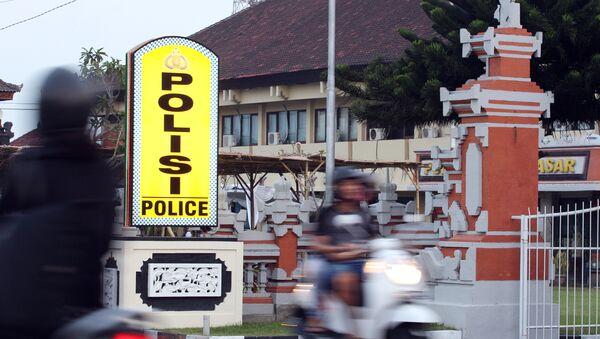 Comisaría donde se encuentra Rajendra Sadashiv Nikalje, alias Chhota Rajan, mafioso indio detenido en Bali, Indonesia - Sputnik Mundo