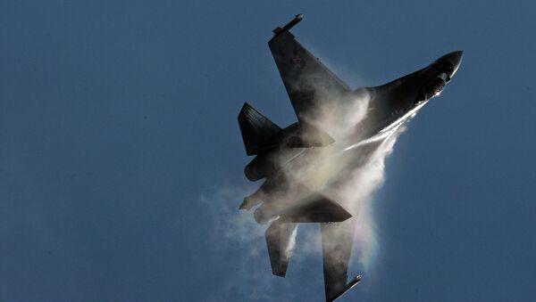 Caza Su-35 - Sputnik Mundo