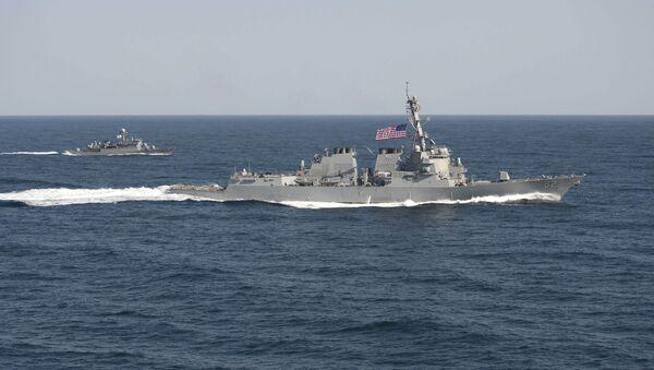 Destructor USS Lassen estadounidense - Sputnik Mundo
