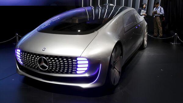 Coches futuristas en el Tokyo Motor Show 2015 - Sputnik Mundo