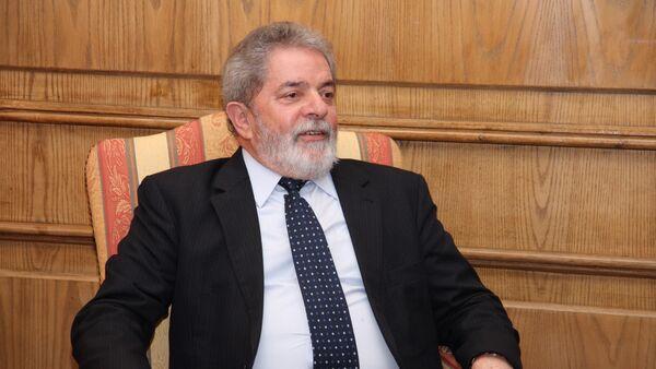 Lula da Silva, ex presidente de Brasil - Sputnik Mundo