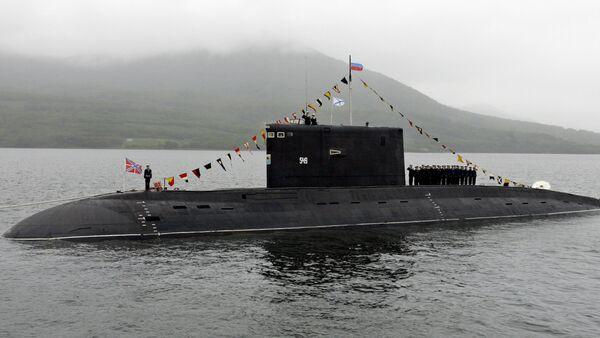 Submarino ruso del proyecto 877 Paltus - Sputnik Mundo