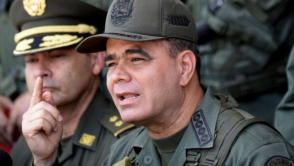 The Commander in Chief of Bolivarian National Armed Forces of Venezuela, Vladimir Padrino - Sputnik Mundo