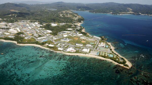 Base militar Campo Schwab en Okinawa - Sputnik Mundo