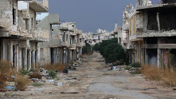Situación en la provincia siria de Hama (Archivo) - Sputnik Mundo