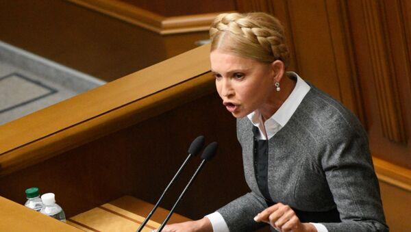 Yulia Timoshenko, ex primera ministra de Ucrania, líder del partido Batkivschina - Sputnik Mundo