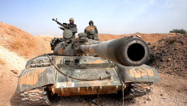 Militares del Ejército sirio - Sputnik Mundo