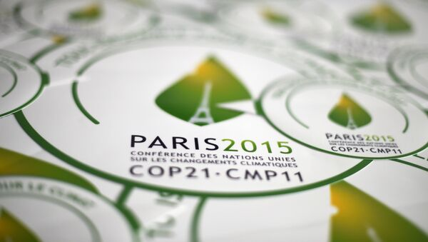 Cumbre de la ONU sobre el Clima 2015 en París, Francia - Sputnik Mundo