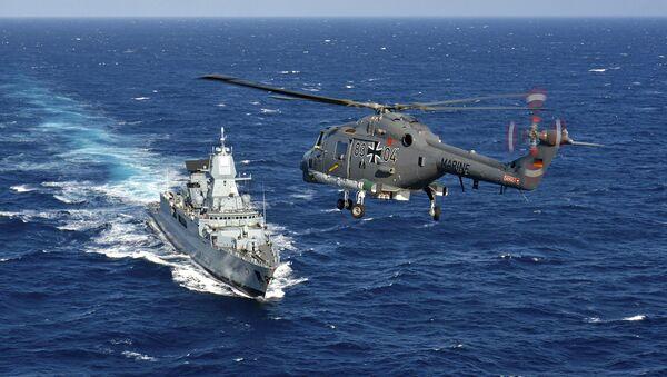 Las Fuerzas de la OTAN en el mar Mediterráneo - Sputnik Mundo