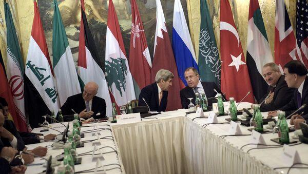 Negociaciones sobre Siria en Viena - Sputnik Mundo