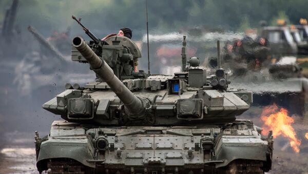 Carro de combate ruso T-90S - Sputnik Mundo