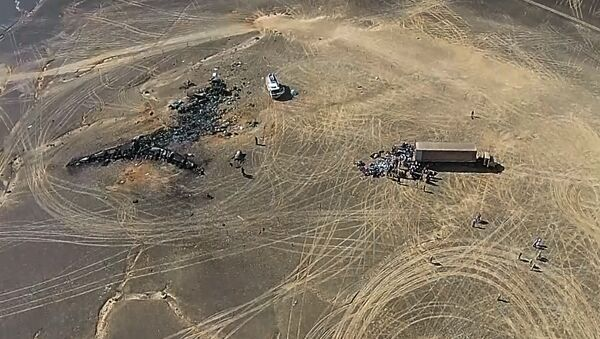 Operación de rescate en el lugar del siniestro del avión ruso A321 - Sputnik Mundo