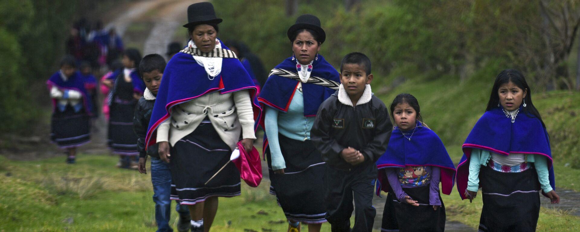 Una de las comunidades indígenas de Colombia - Sputnik Mundo, 1920, 13.03.2021