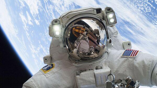 Astronauta Mike Hopkins (archivo) - Sputnik Mundo