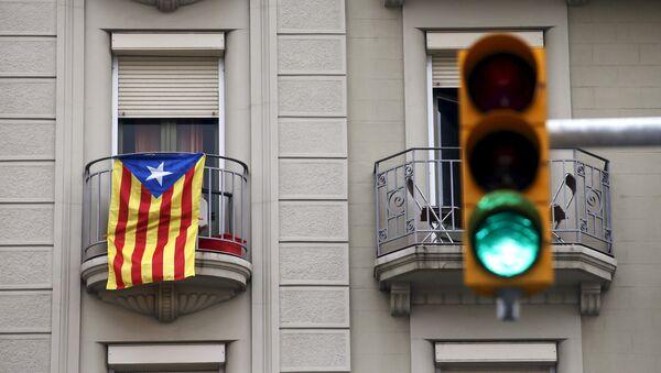 Bandera estelada de Cataluña - Sputnik Mundo