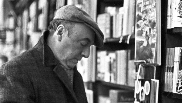 Pablo Neruda, poeta chileno - Sputnik Mundo