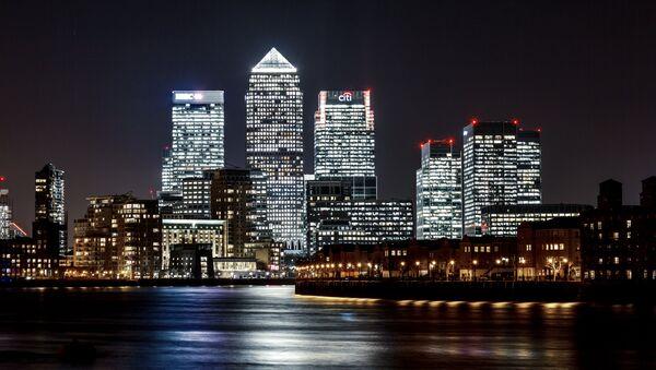El barrio londinense de Canary Wharf - Sputnik Mundo