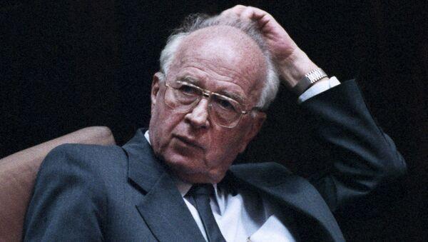 Isaac Rabin - Sputnik Mundo