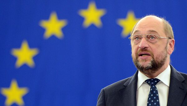 Martin Schulz, presidente del Parlamento Europeo - Sputnik Mundo