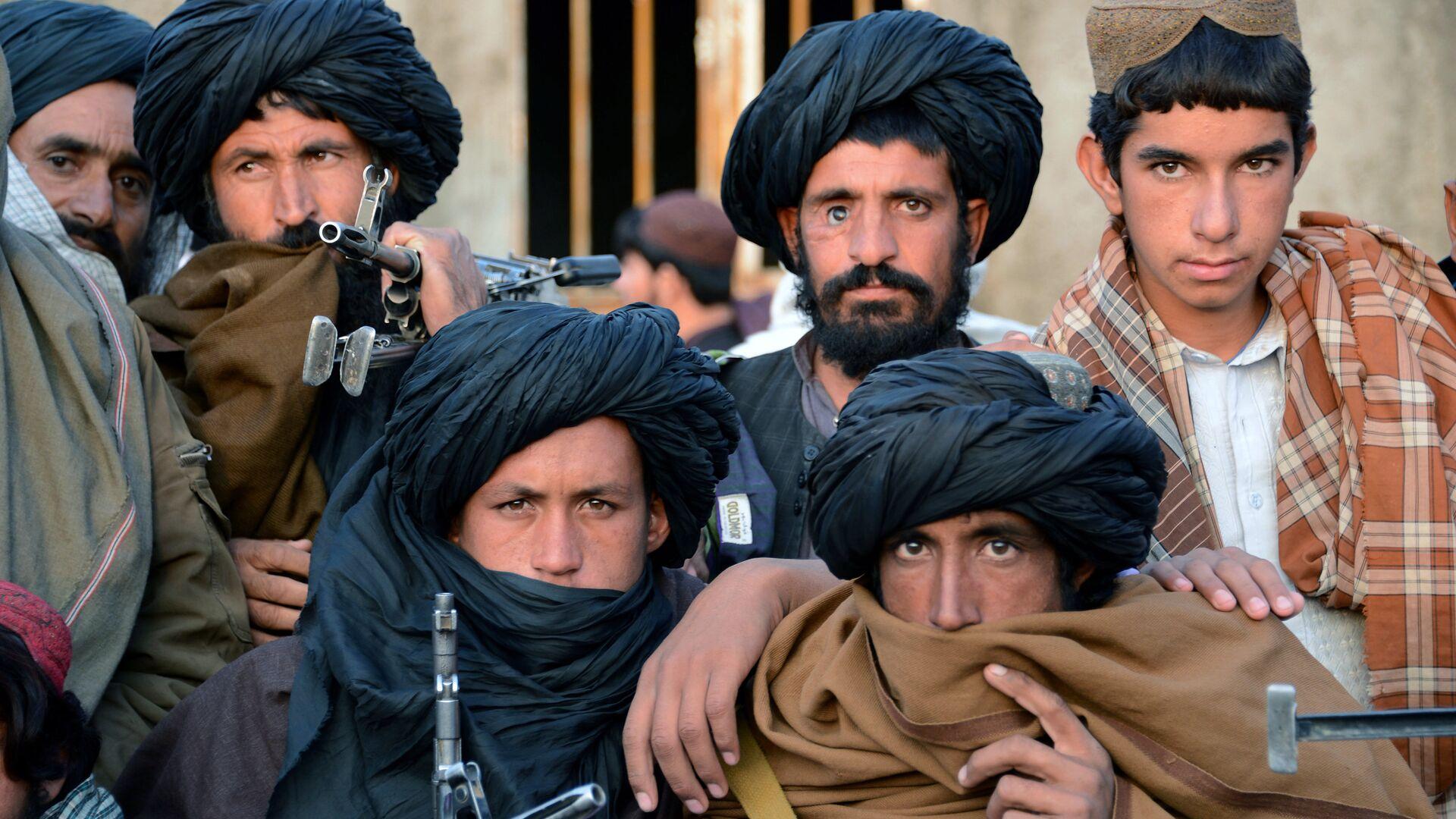 Combatientes de Talibán en Afganistán - Sputnik Mundo, 1920, 10.10.2021