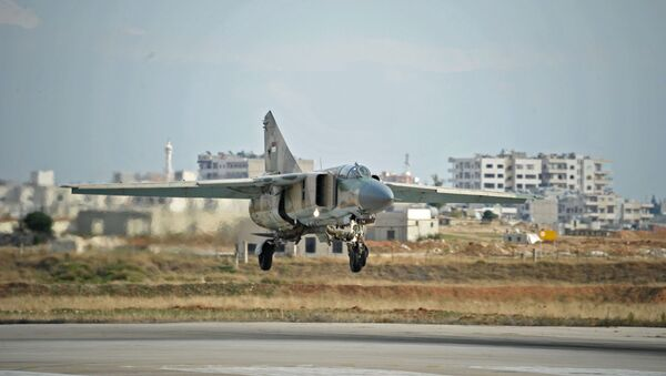 MiG-23 sirio (archivo) - Sputnik Mundo