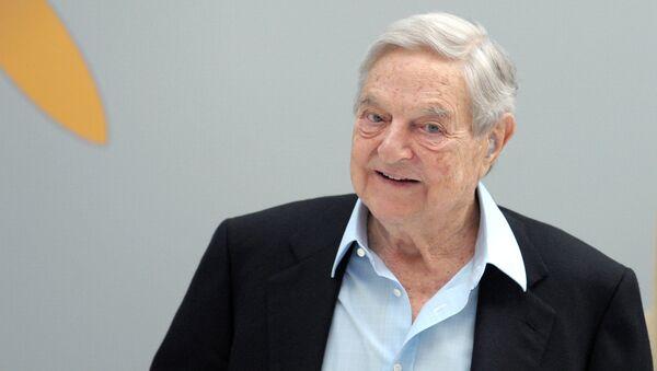 George Soros, magnate húngaro - Sputnik Mundo