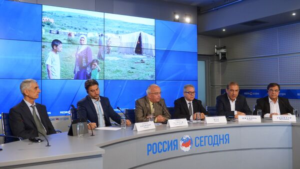 Líderes de la oposición siria en Rusia - Sputnik Mundo